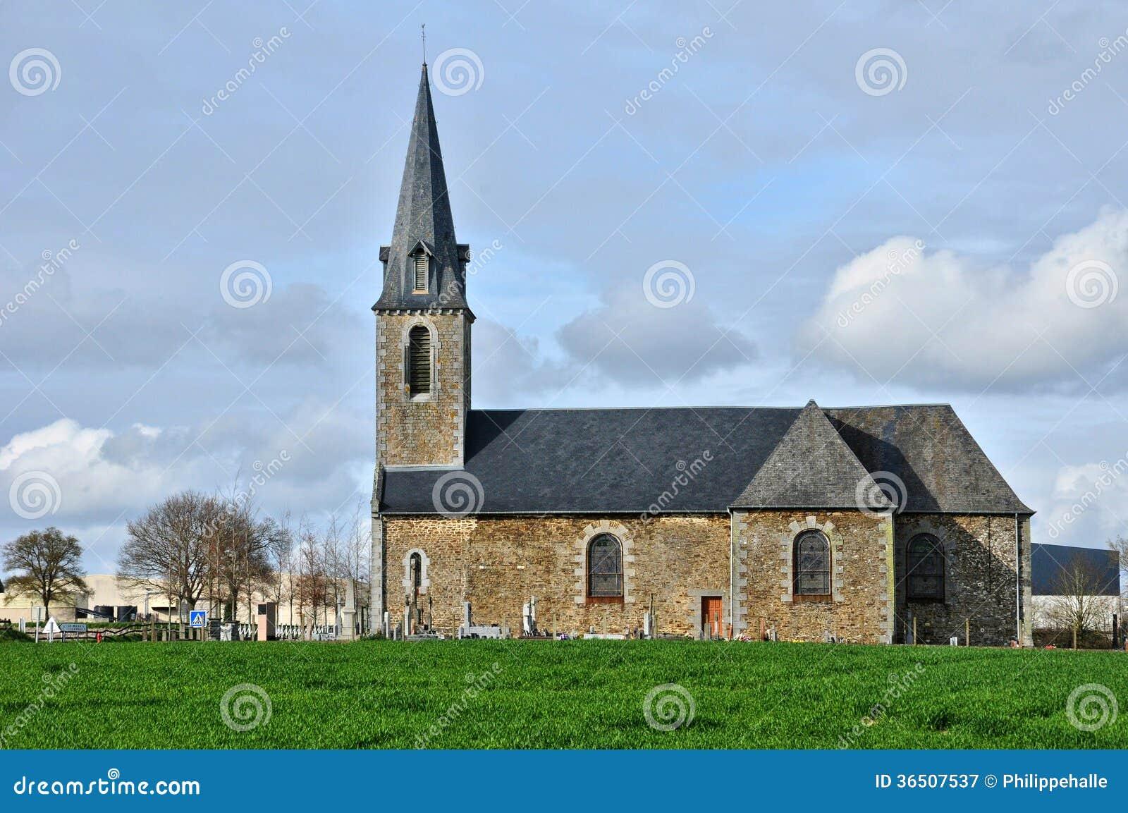 Frances, église historique d Isigny le Buat