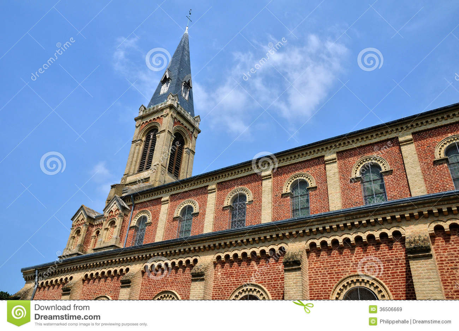 Frances, église historique de Deauville dans Normandie