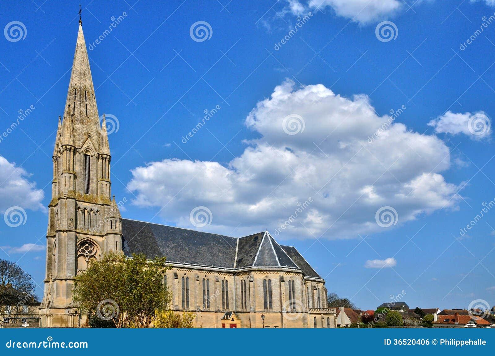 Frances, église historique de sur Mer d Aubain de saint