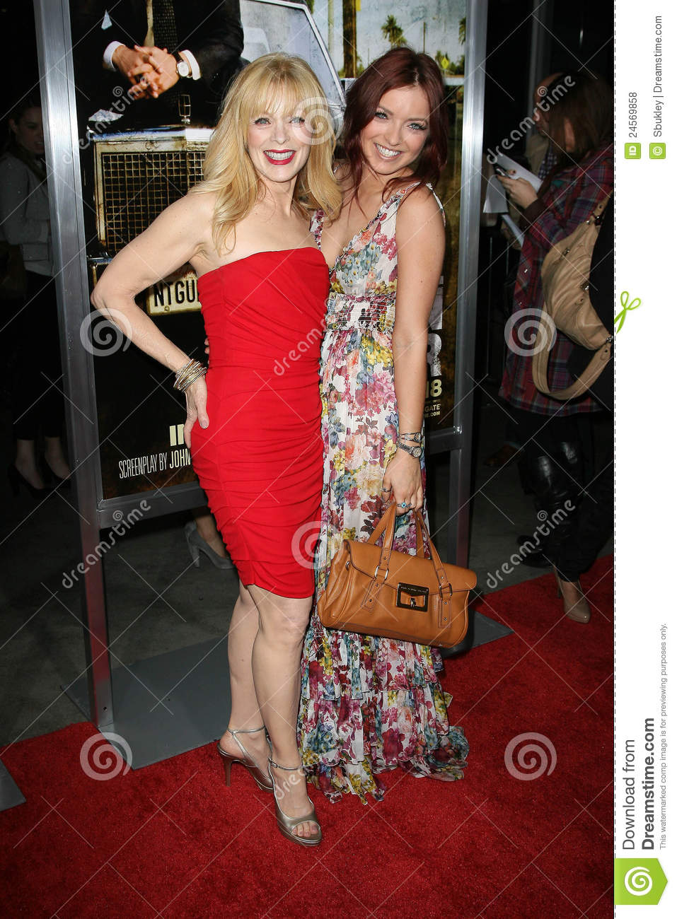 Frances Fisher,Francesca Eastwood Editorial Stock Photo ...