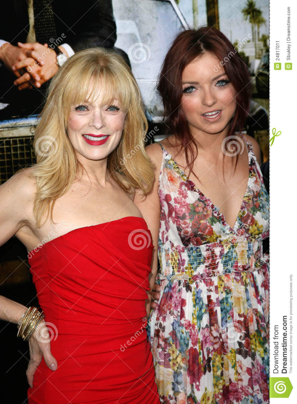 Frances Fisher,Francesca Eastwood Editorial Photo - Image ...