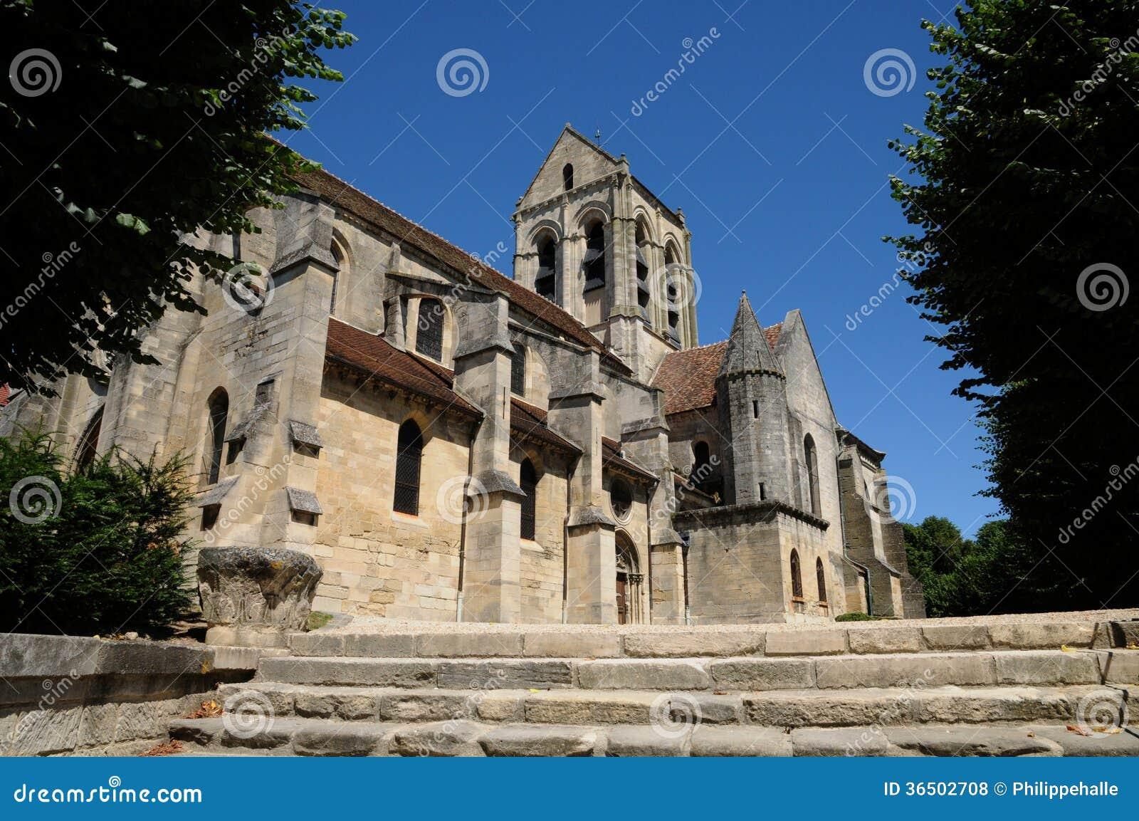 Frances, l église de Notre Dame d Auvers-sur-Oise