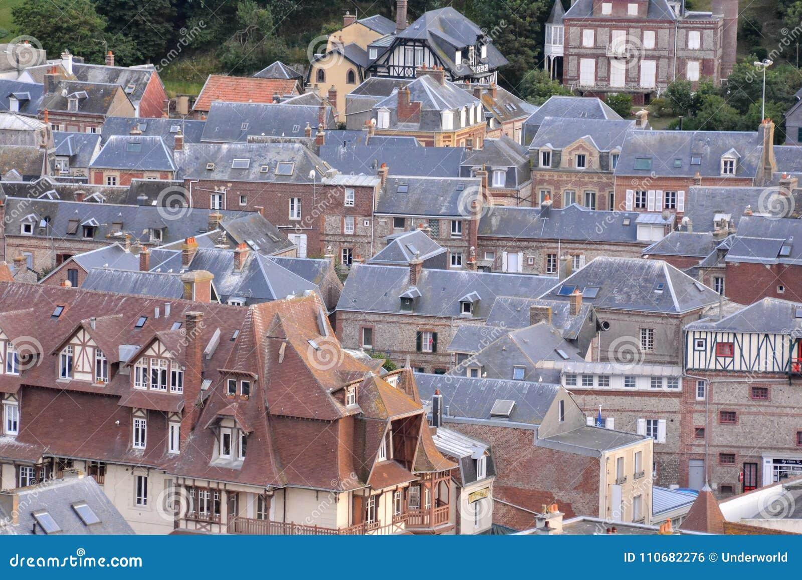 Frances l Europe de la Normandie de ville d Etretat d Amont de Falaise