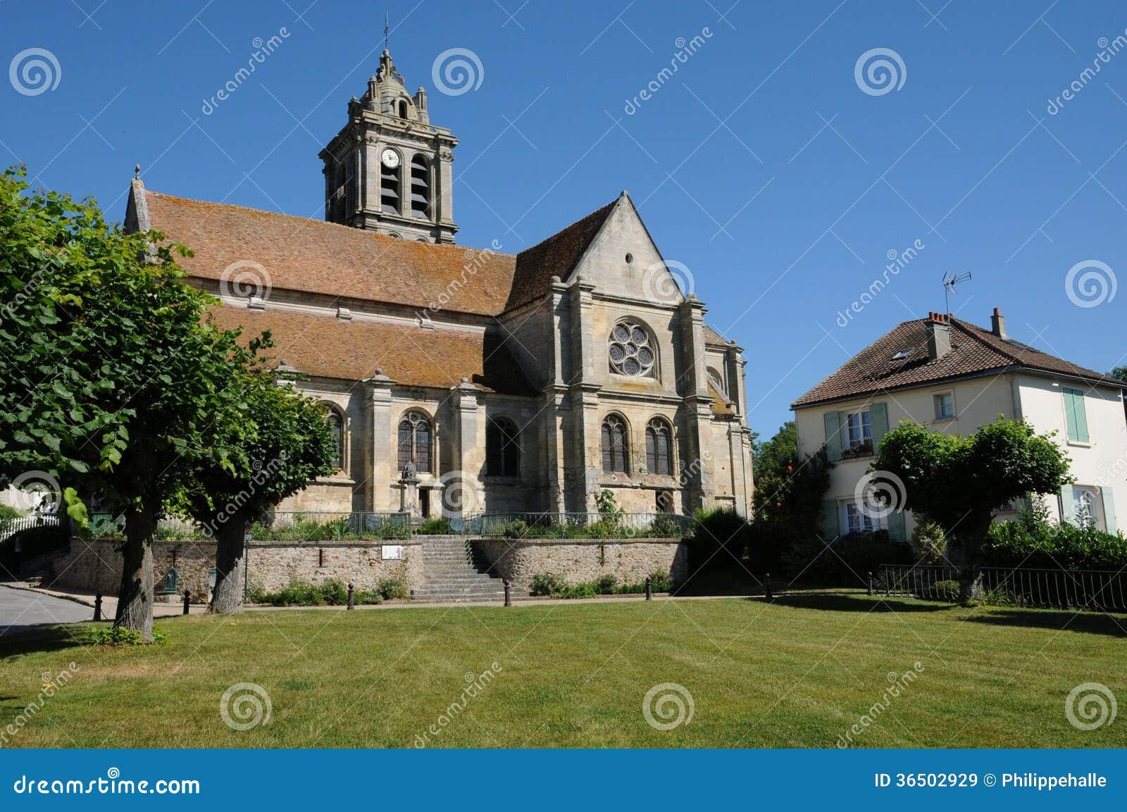 Frances, la vieille église du Rhus d Epiais en Val d l Oise