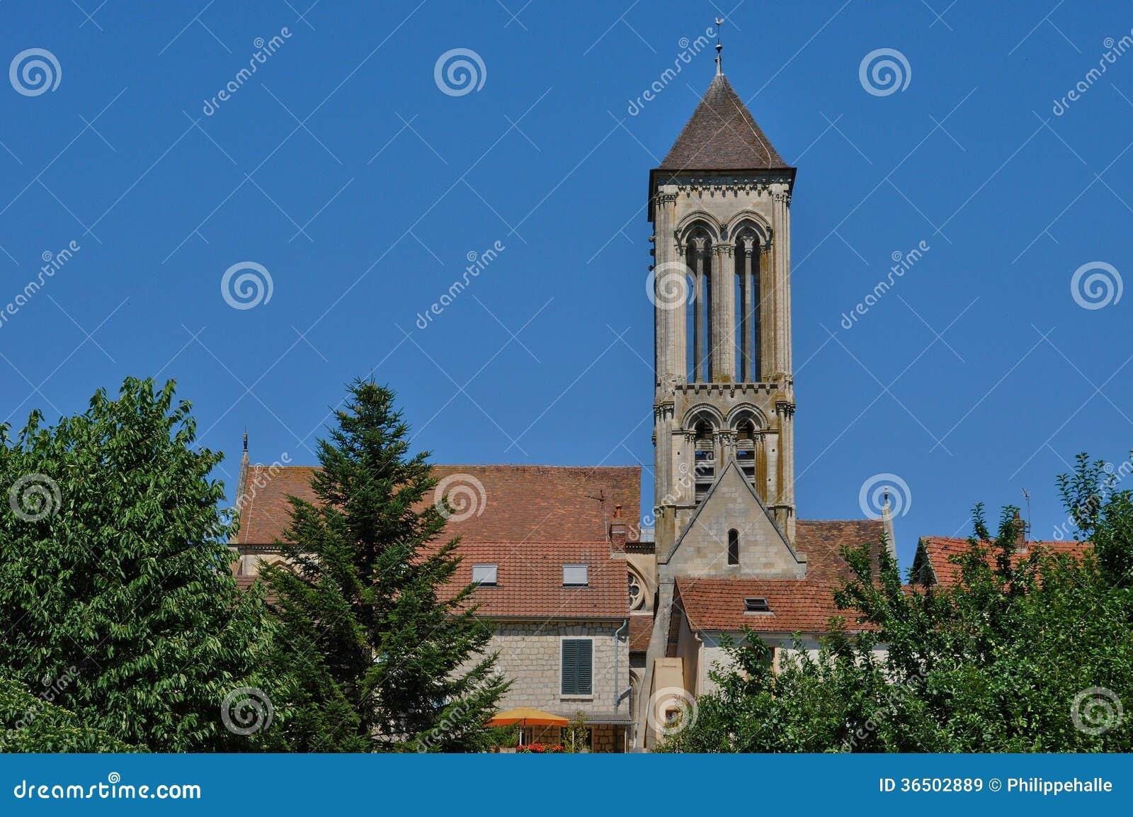 Frances, la vieille église du sur l Oise de Champagne