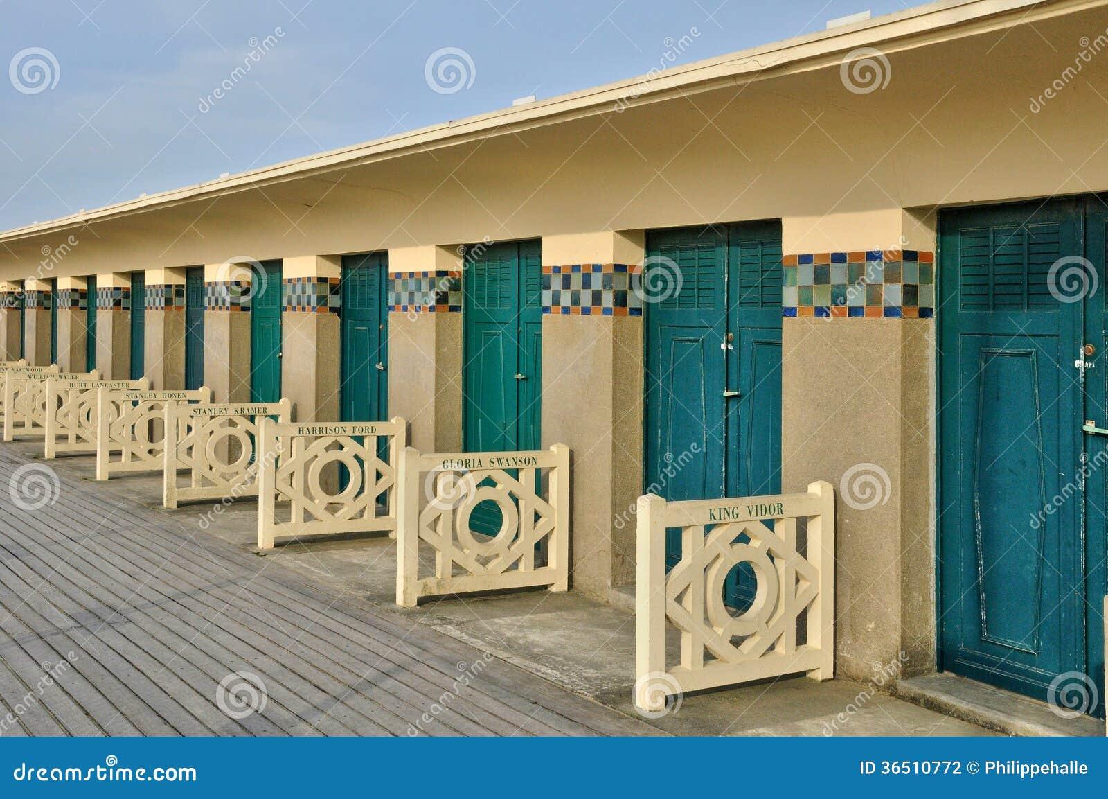 Frances, la ville pittoresque de Deauville dans Normandie