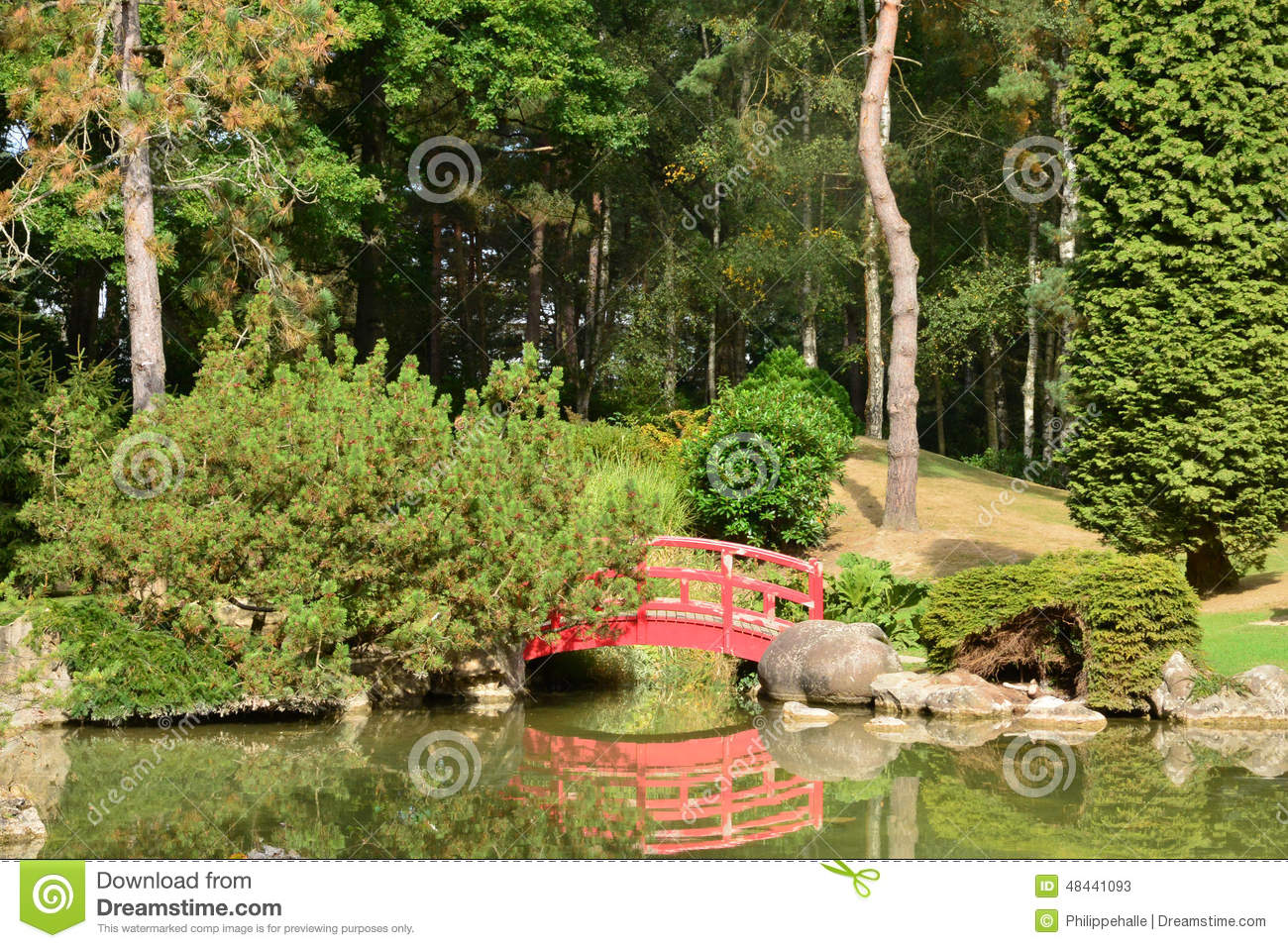 Frances Le Jardin Japonais Pittoresque D 39 Aincourt Photo