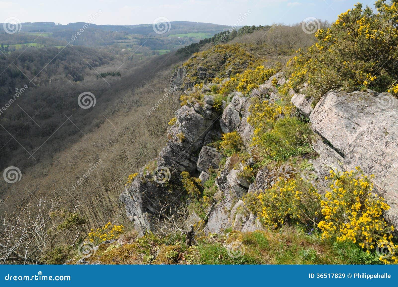 Frances, Roche pittoresque d Oetre dans le sur l Orne de Philibert de saint