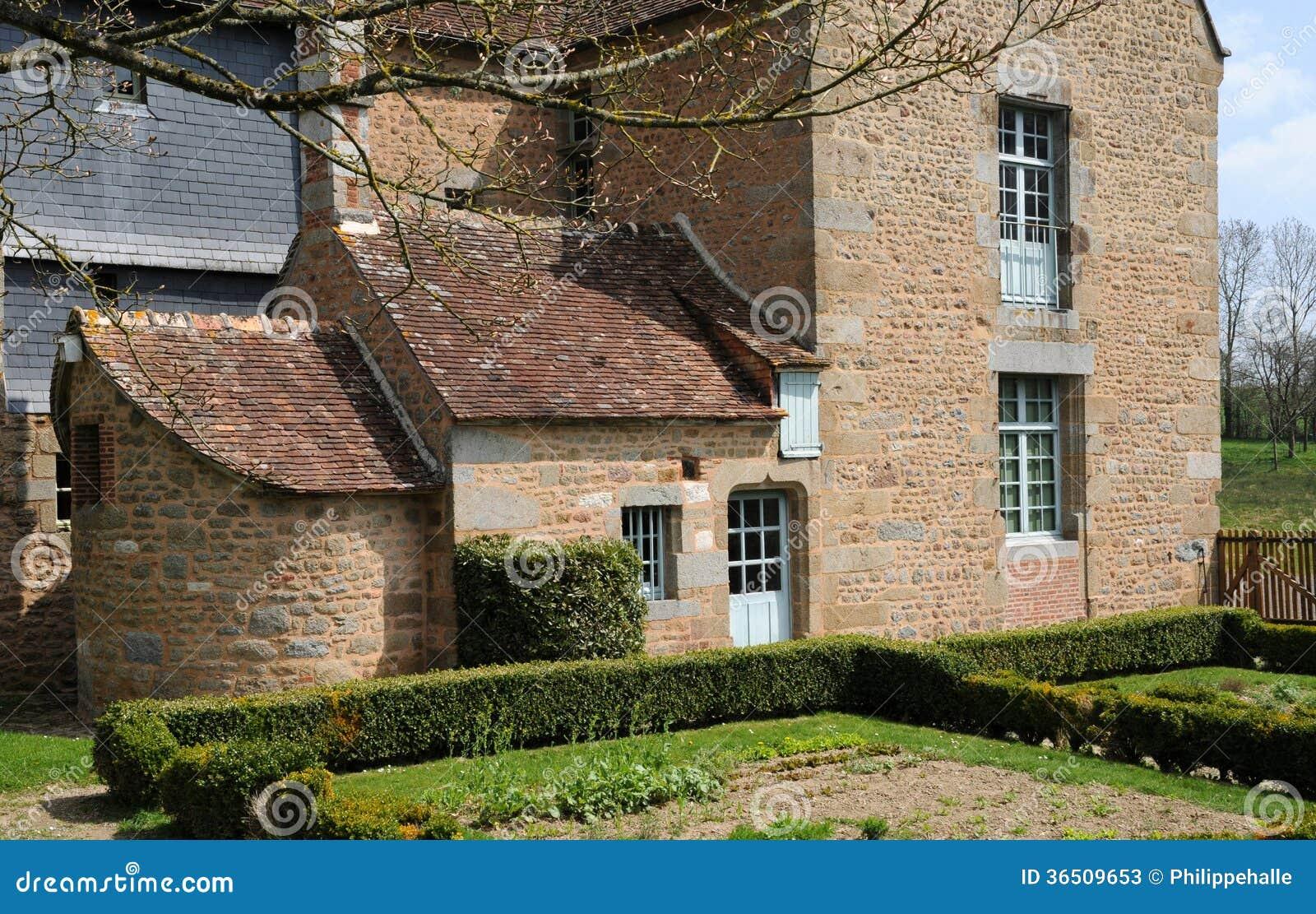 Frances, village pittoresque de Carrouges dans Normandie