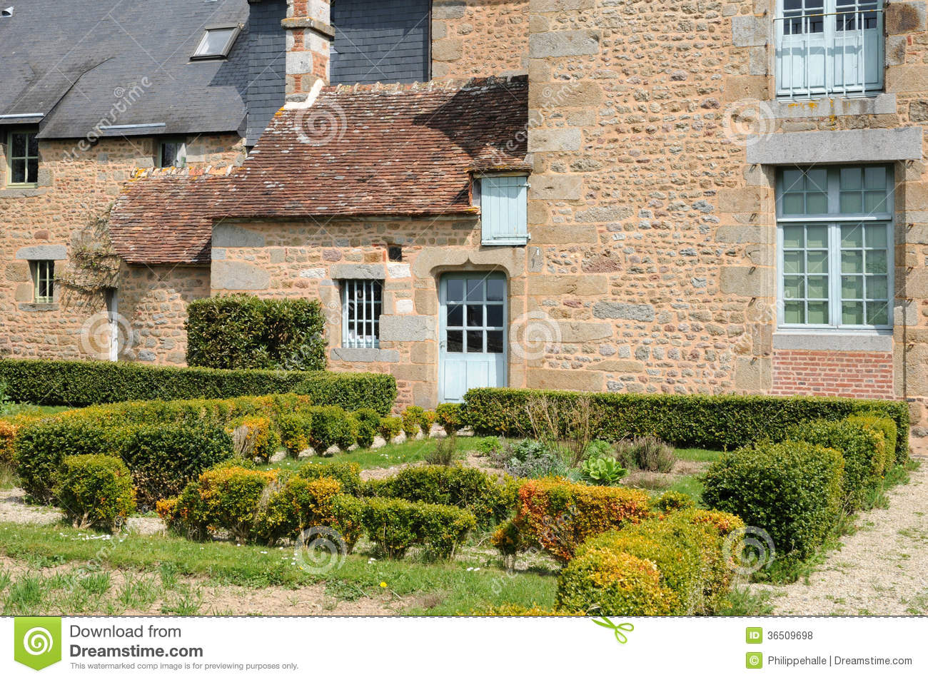 Frances, village pittoresque de Carrouges dans Normandie