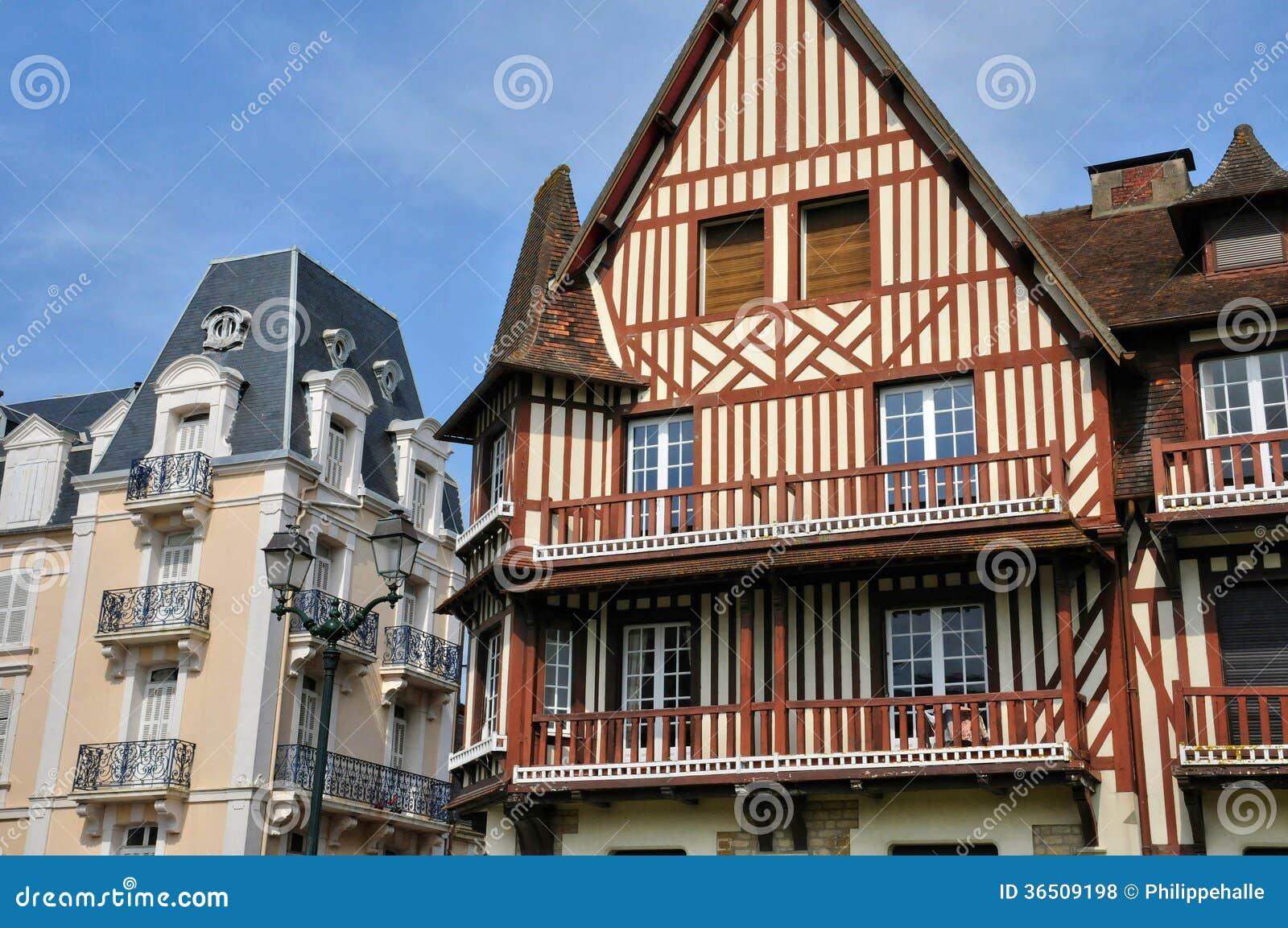 Frances, ville pittoresque de Cabourg dans Normandie