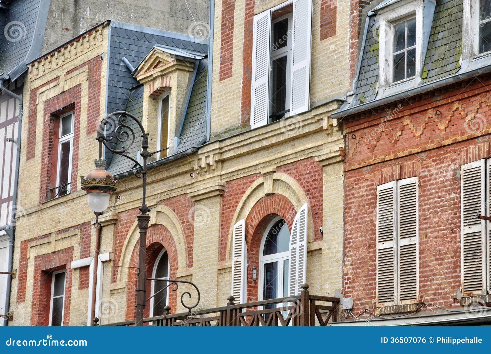 Frances, ville pittoresque de Deauville dans Normandie