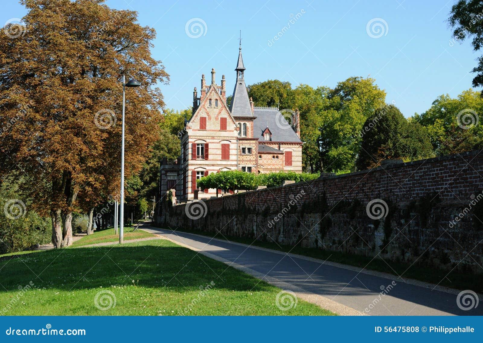 Frances, Yvelines, manoir de Bouvaist dans Les Mureaux