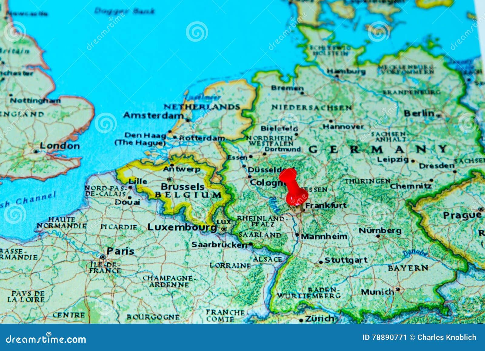 carte europe zurich