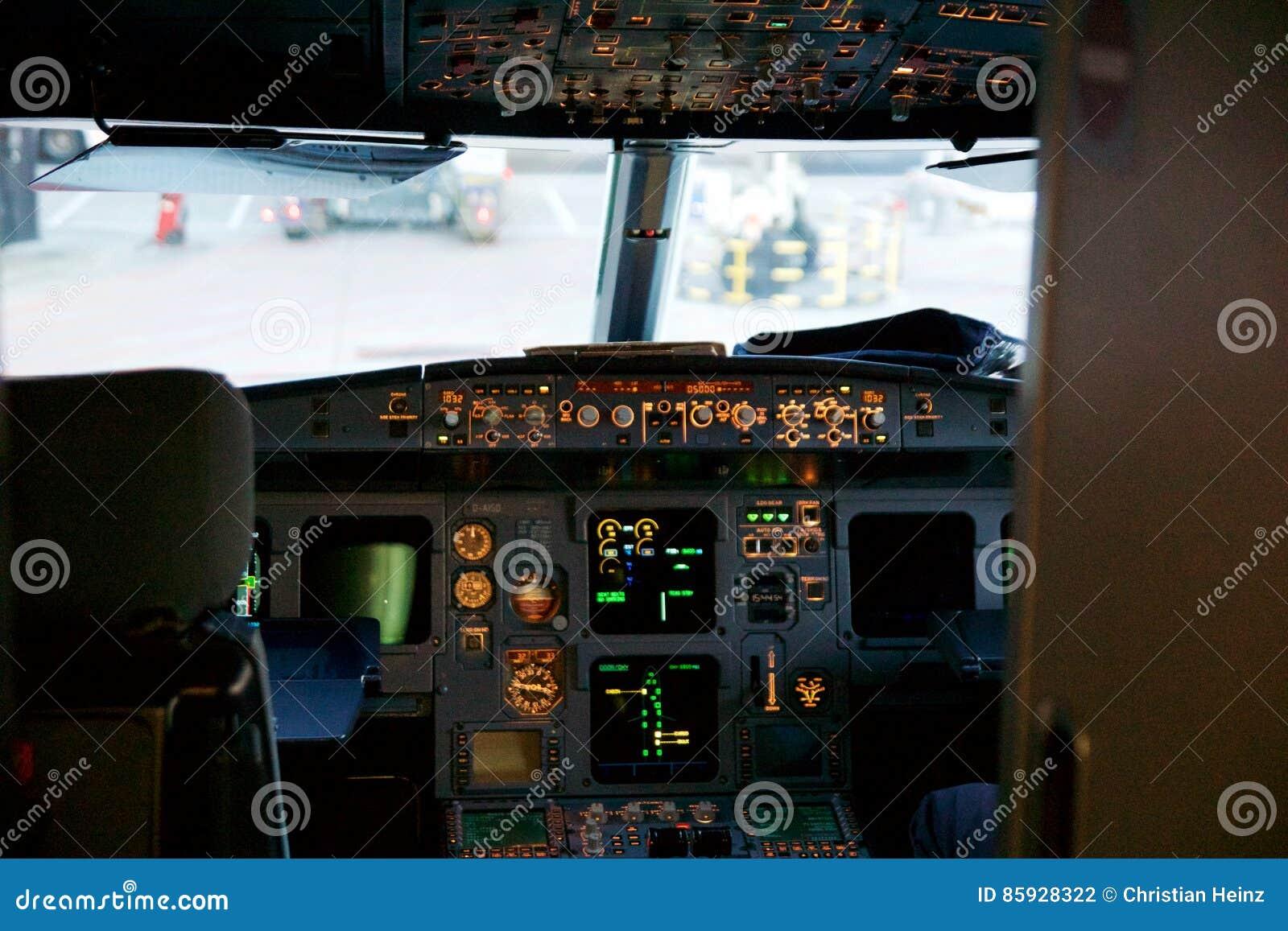 francfort allemagne 20 janvier 2017 intrieur d habitacle d airbus a320 la famille