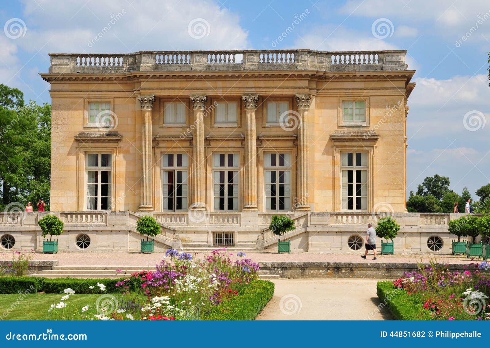 Francia, el estado de Marie Antoinette en el parc del PA de Versalles