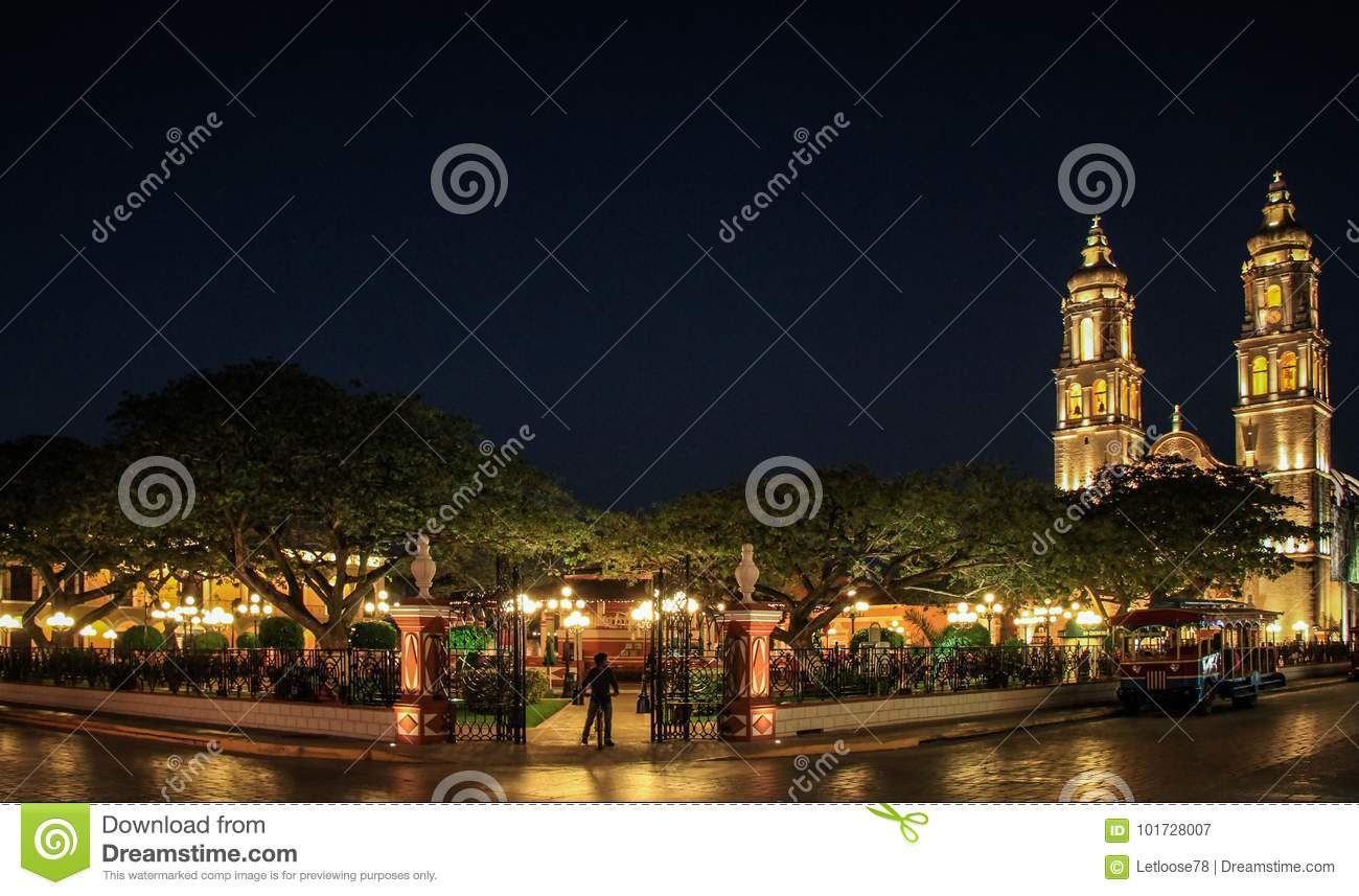 Spanish Conquest Stock Photos & Spanish Conquest Stock ...   Campeche City Monuments