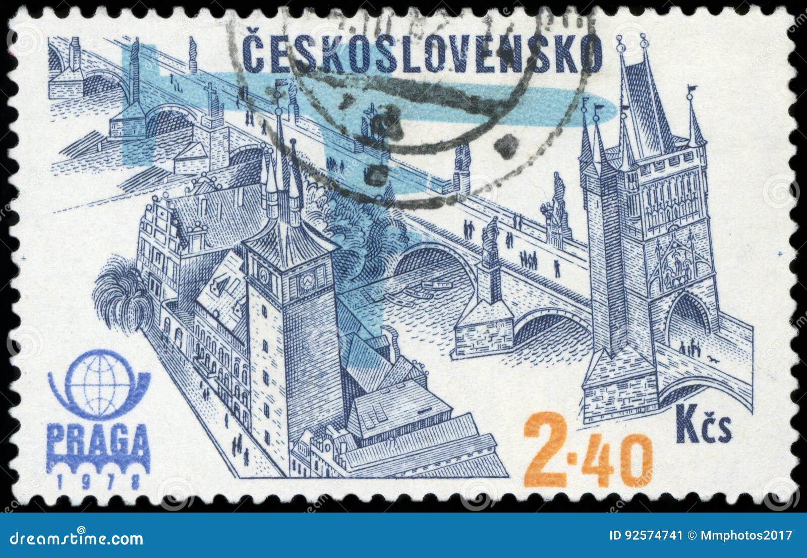 Francobollo della Cecoslovacchia