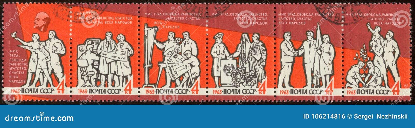 Francobollo russo