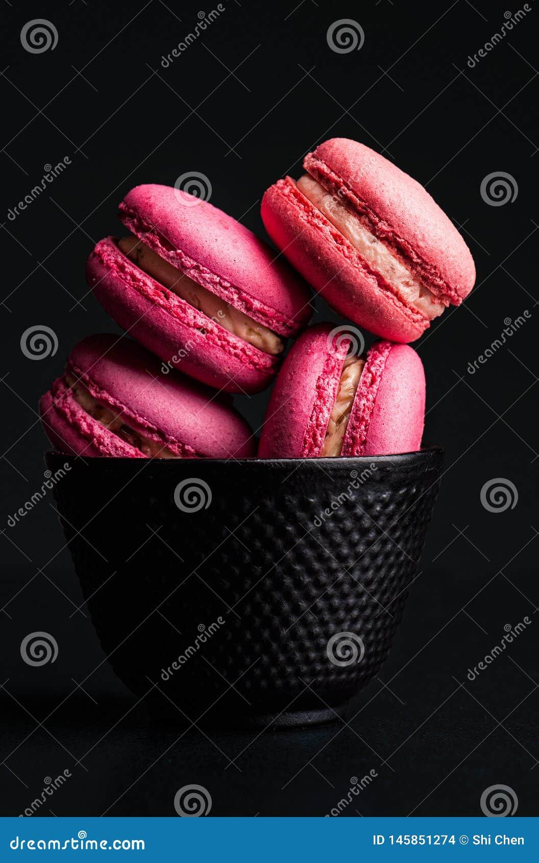 Francuscy macarons zasychaj? Kolorowego pojawienie