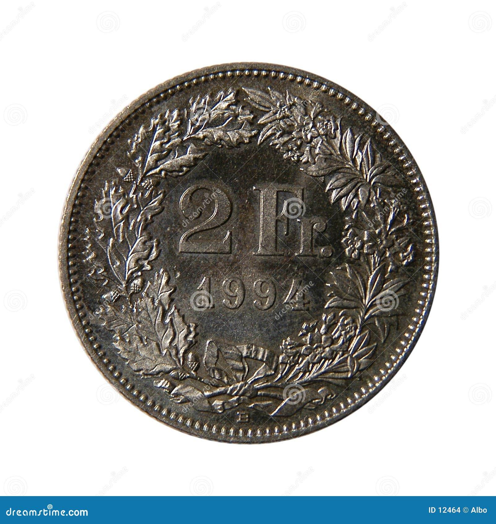 Francuski dwóch franków