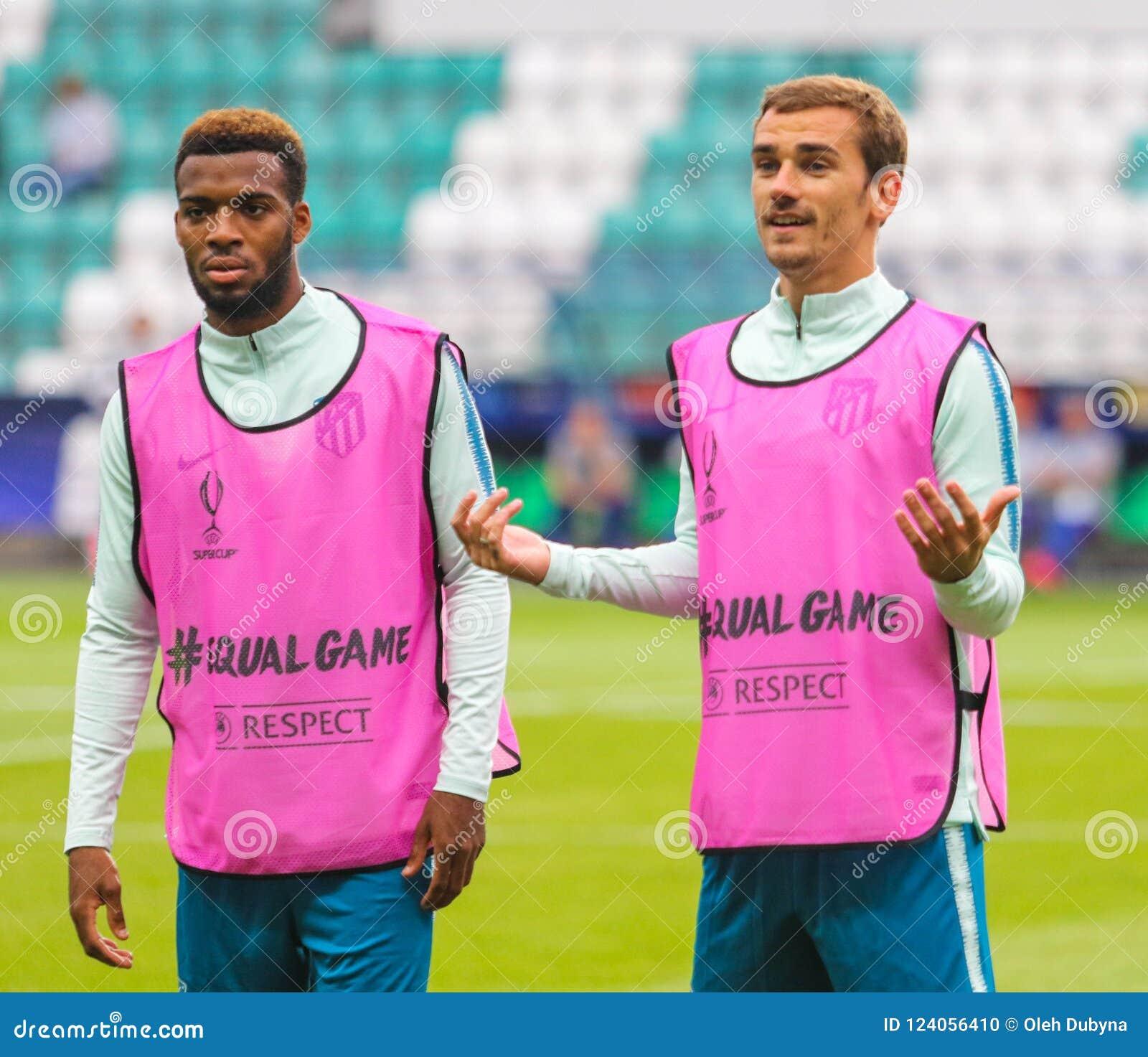 Francuski fachowy futbolista Antoine Griezmann R