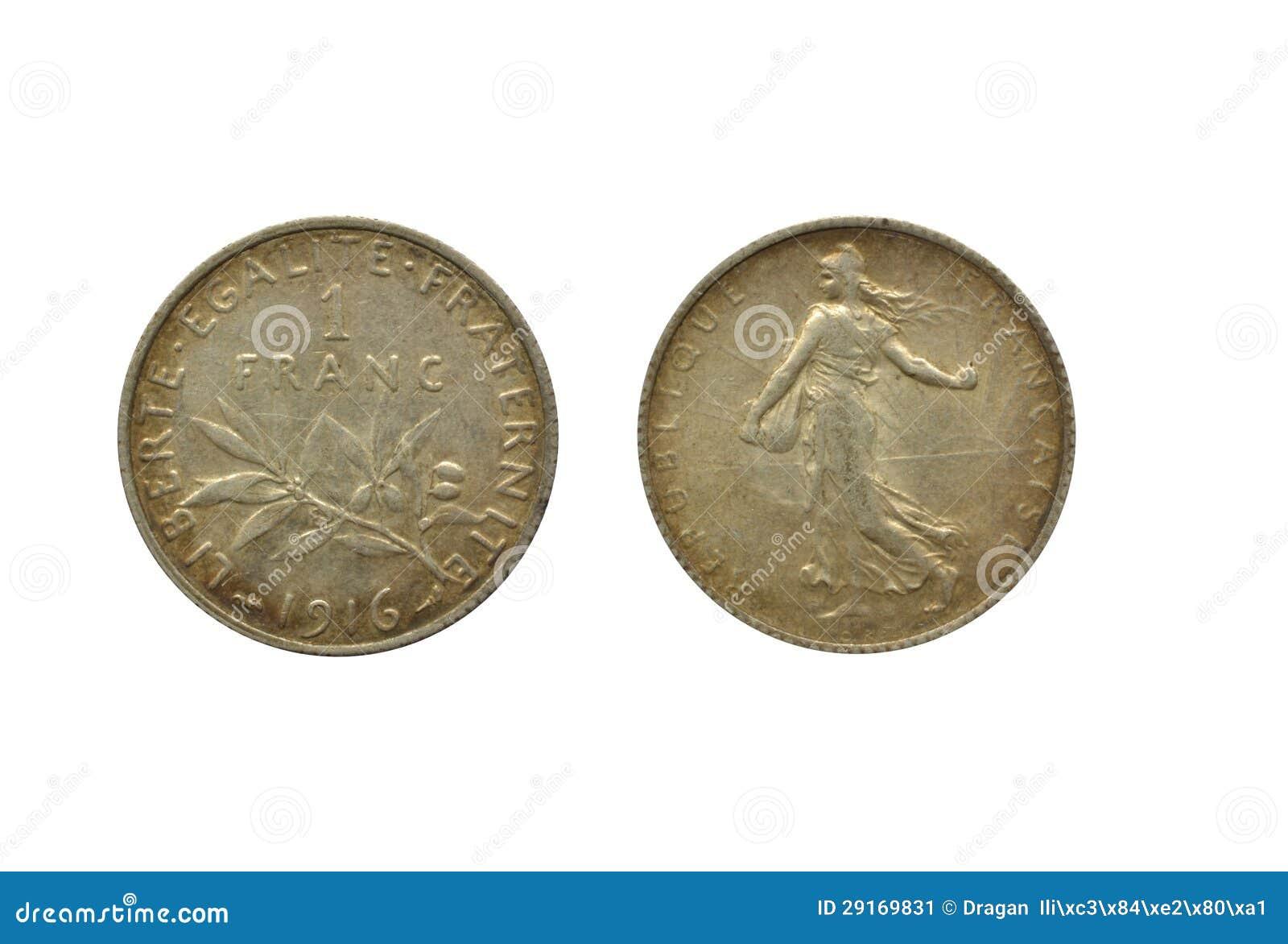 Francuski frank 1916