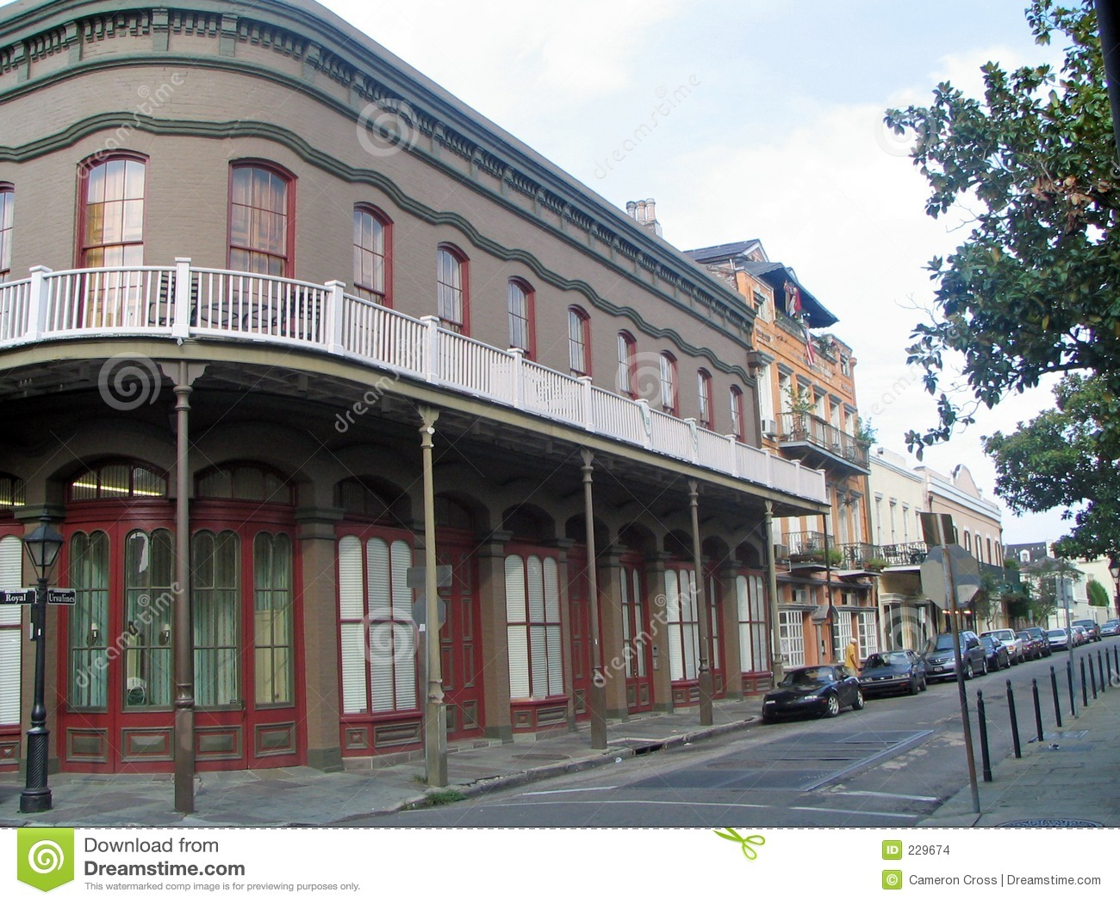 Francuskie Orleans nowych kwater