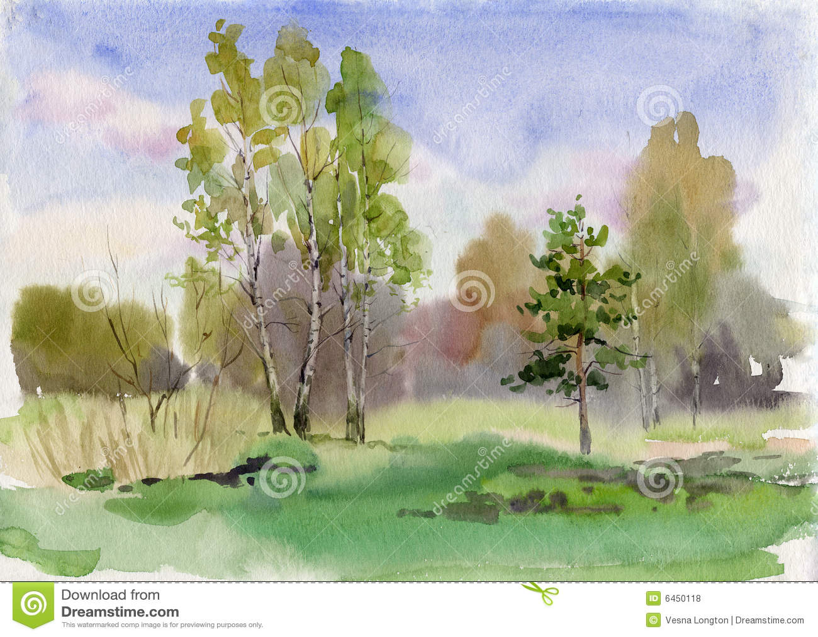 Frange de forêt