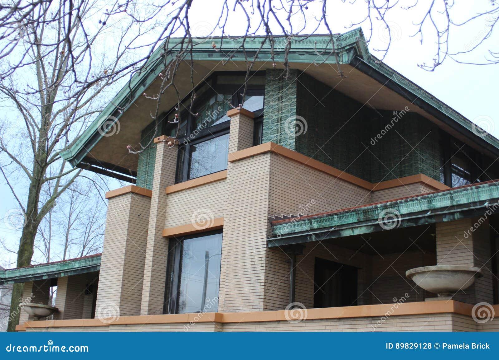Frank Lloyd Wright ` s Dana Thomas House, Springfield, IL
