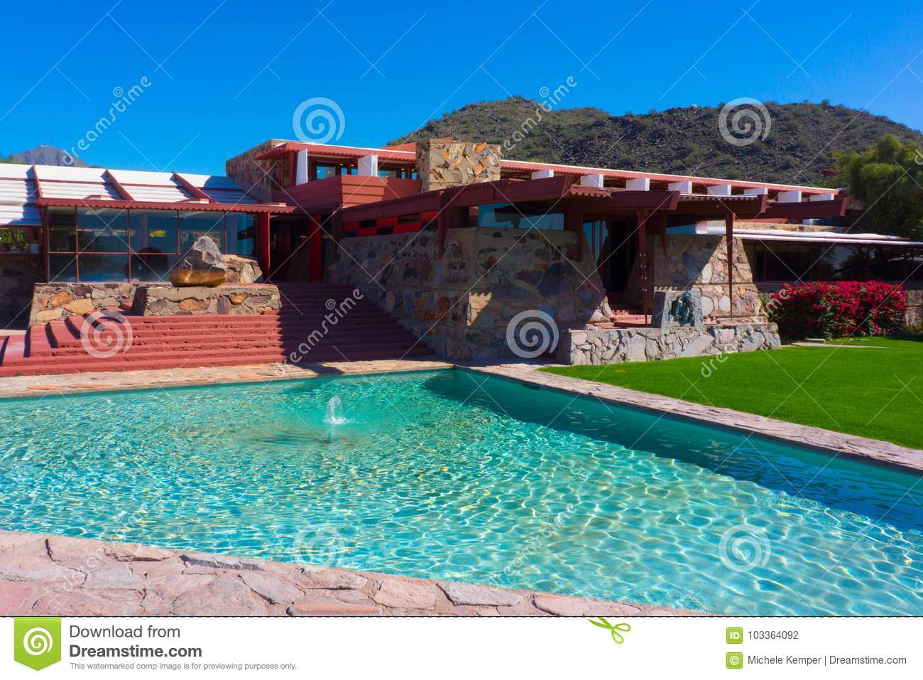 various colors fast delivery great prices Frank Lloyd Wright - Taliesin West /Studio Fotografía ...