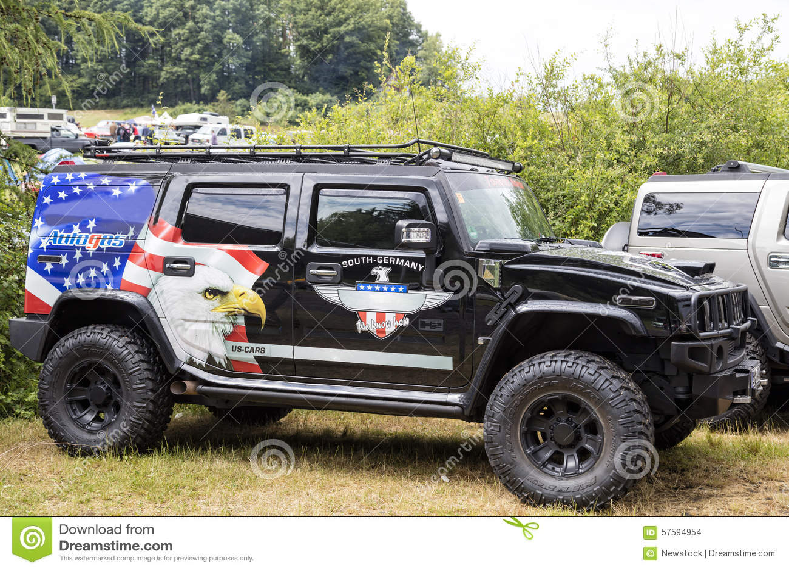 Franken, Germany, 21 June 2015: American Muscle Car Editorial Stock ...