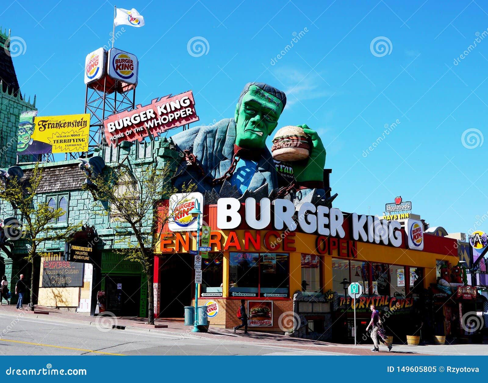 Frankenstein Burger King, Hill του Clifton, καταρράκτες του Νιαγάρα
