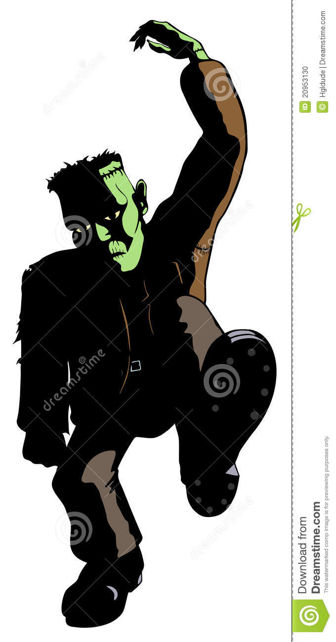 Frankenstein s Monster Dances