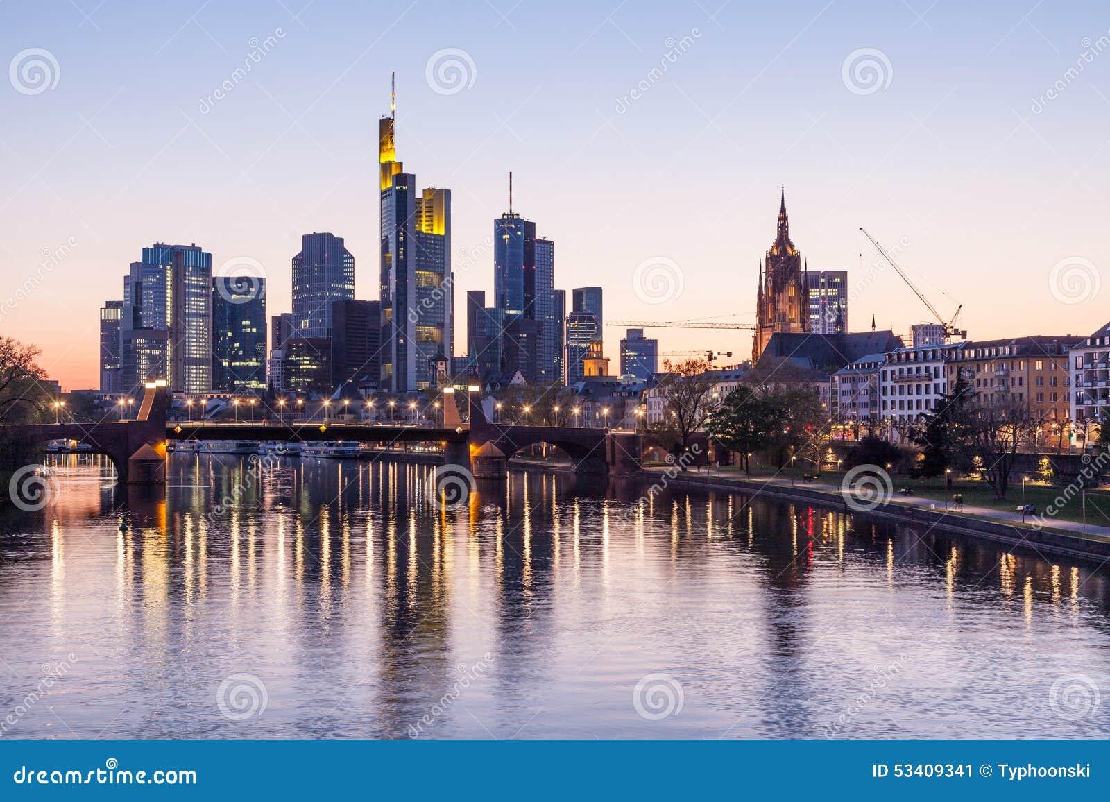 Skyline models frankfurt