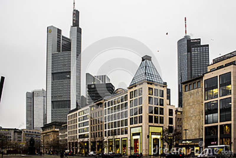 Frankfurt Germany Editorial Photography Image Of Shoppin 86655682