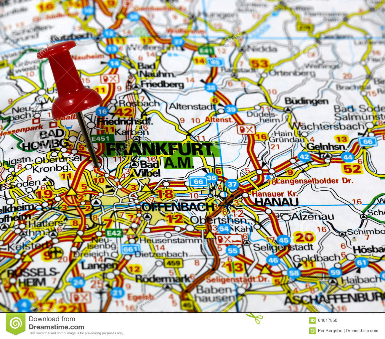 Budingen Germany Map.Frankfurt In Germany Stock Illustration Illustration Of Europe