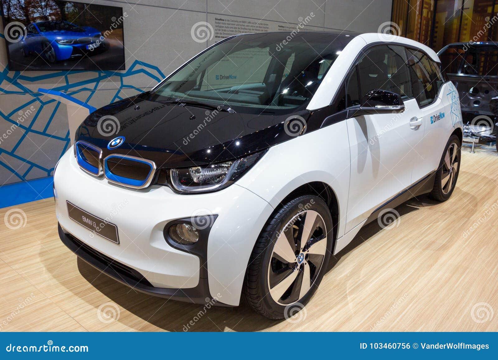 Bmw I3 Electric Car Editorial Photo Image Of Show Autoshow 103460756