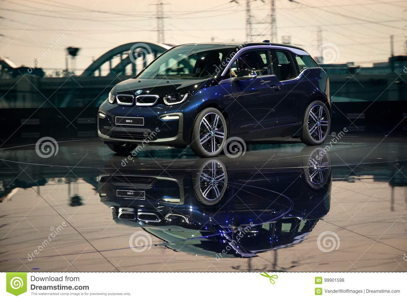 2018 Bmw I3 Electric Car Editorial Stock Photo Image Of Vehicle