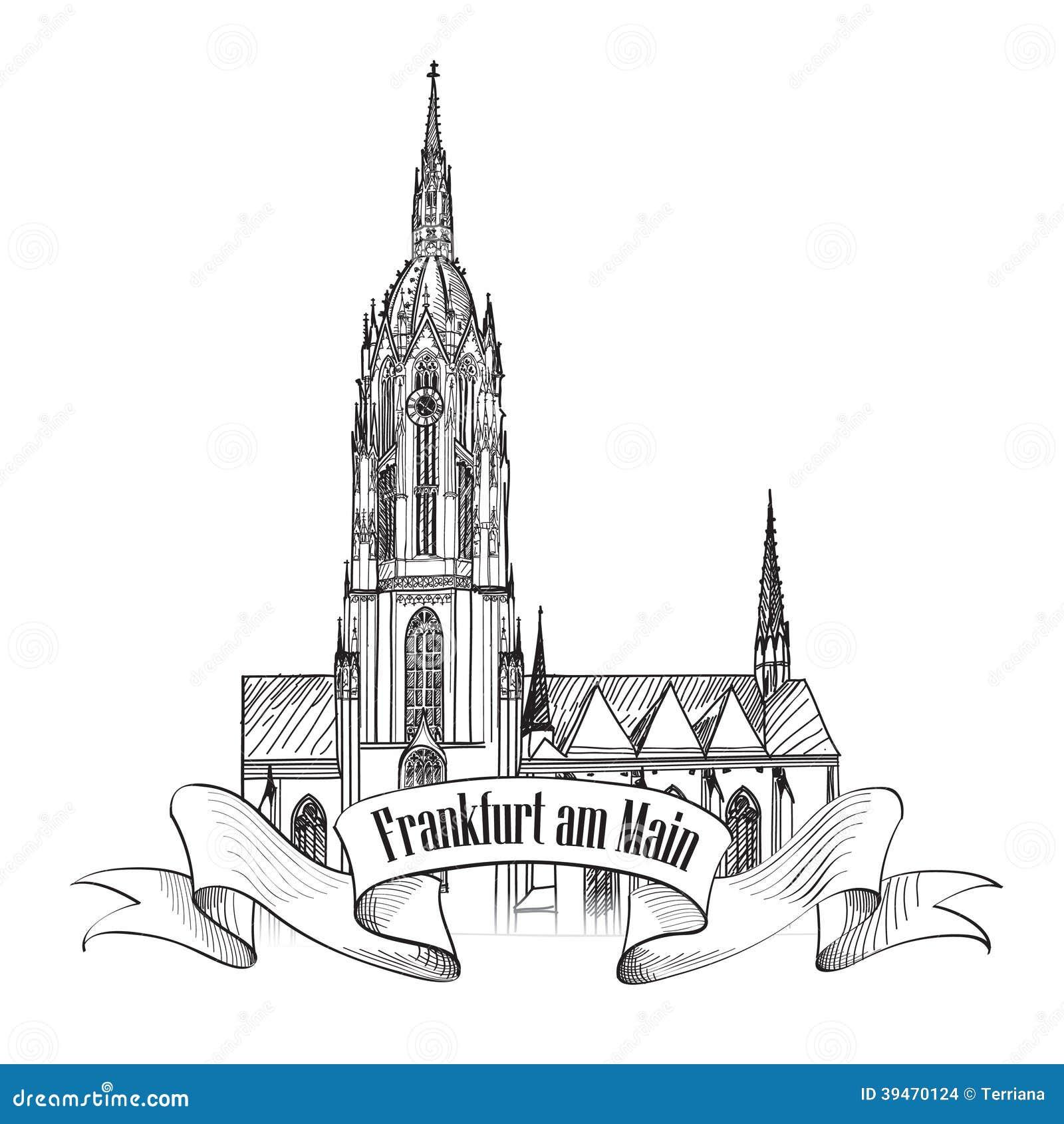 German Drawing Symbols Free Download Germany Wiring Diagrams Frankfurt Landmark Travel Icon Sketch Stock