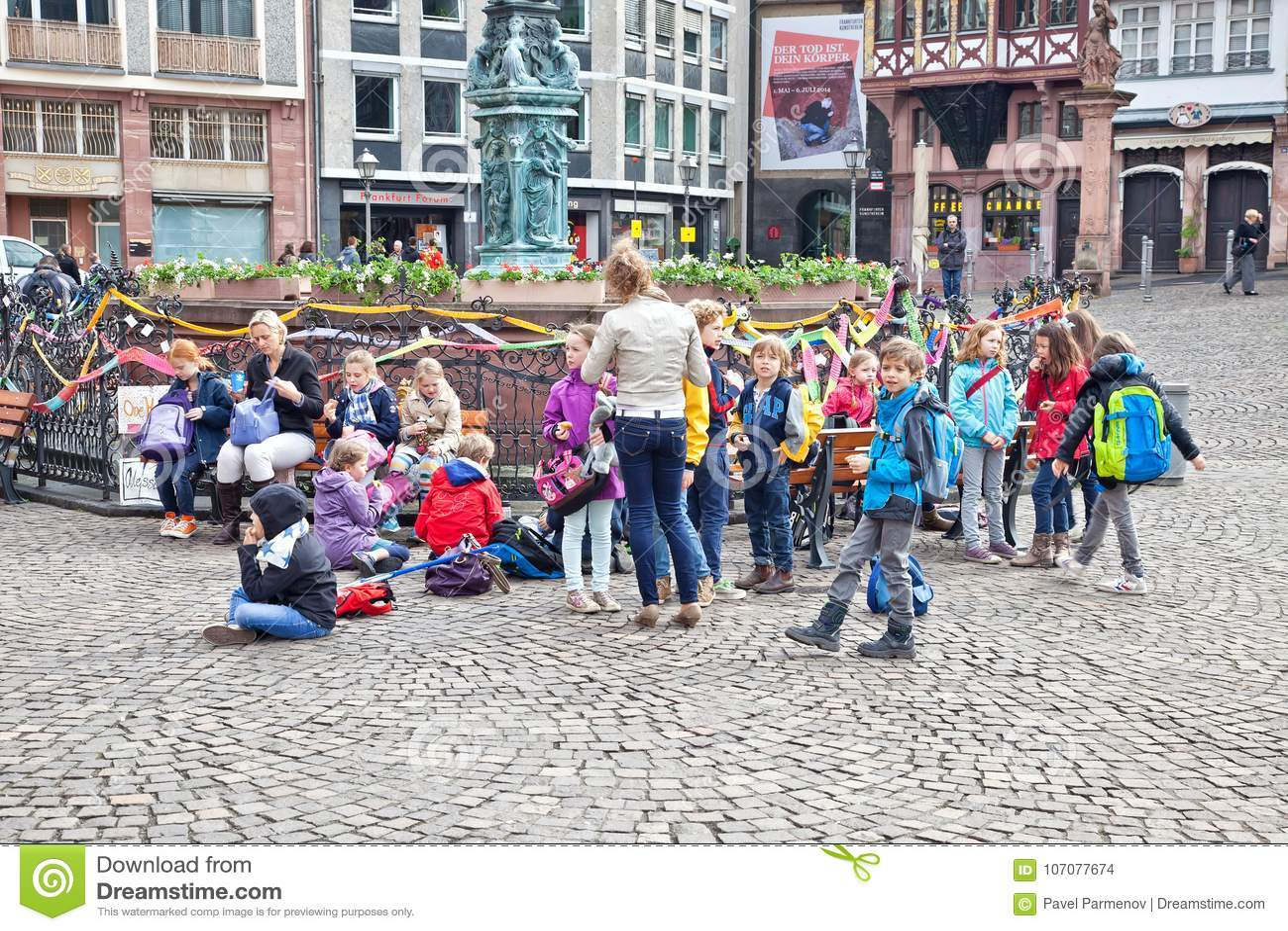 Kinder In Frankfurt
