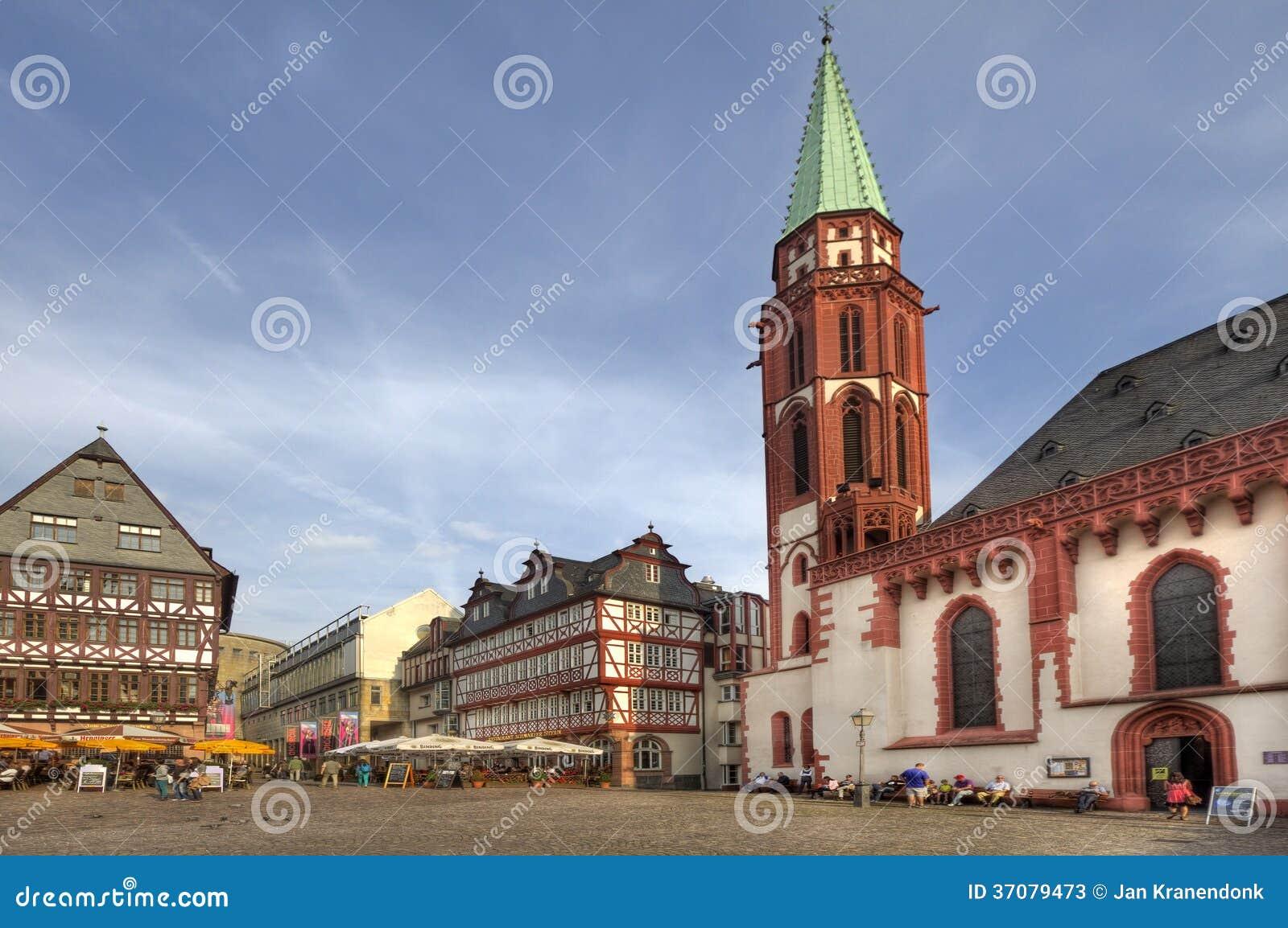 Download Frankfurt rynek zdjęcie stock editorial. Obraz złożonej z niemcy - 37079473
