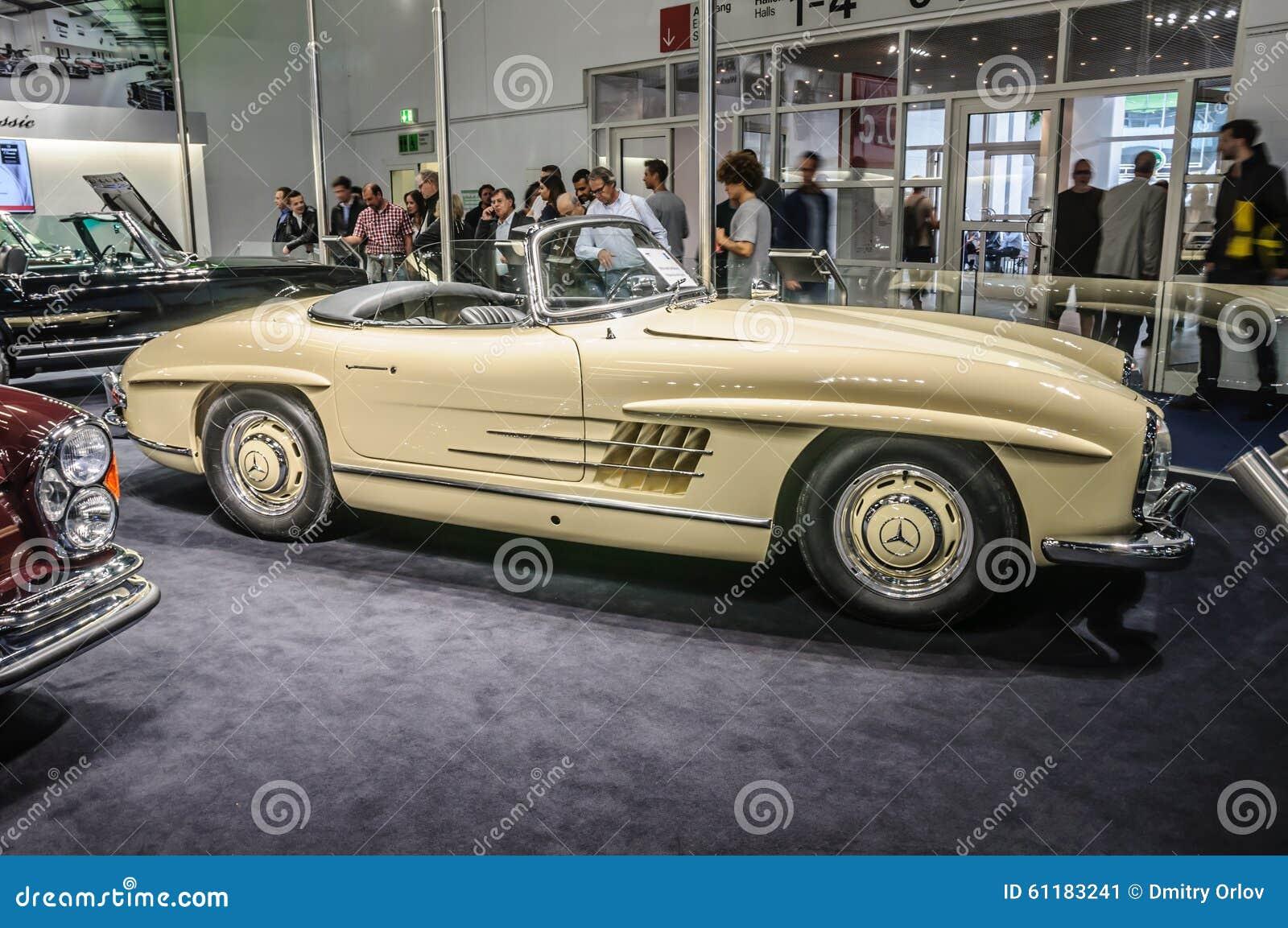 Frankfurt sept 2015 1957 brabus classic mercedes benz for International mercedes benz
