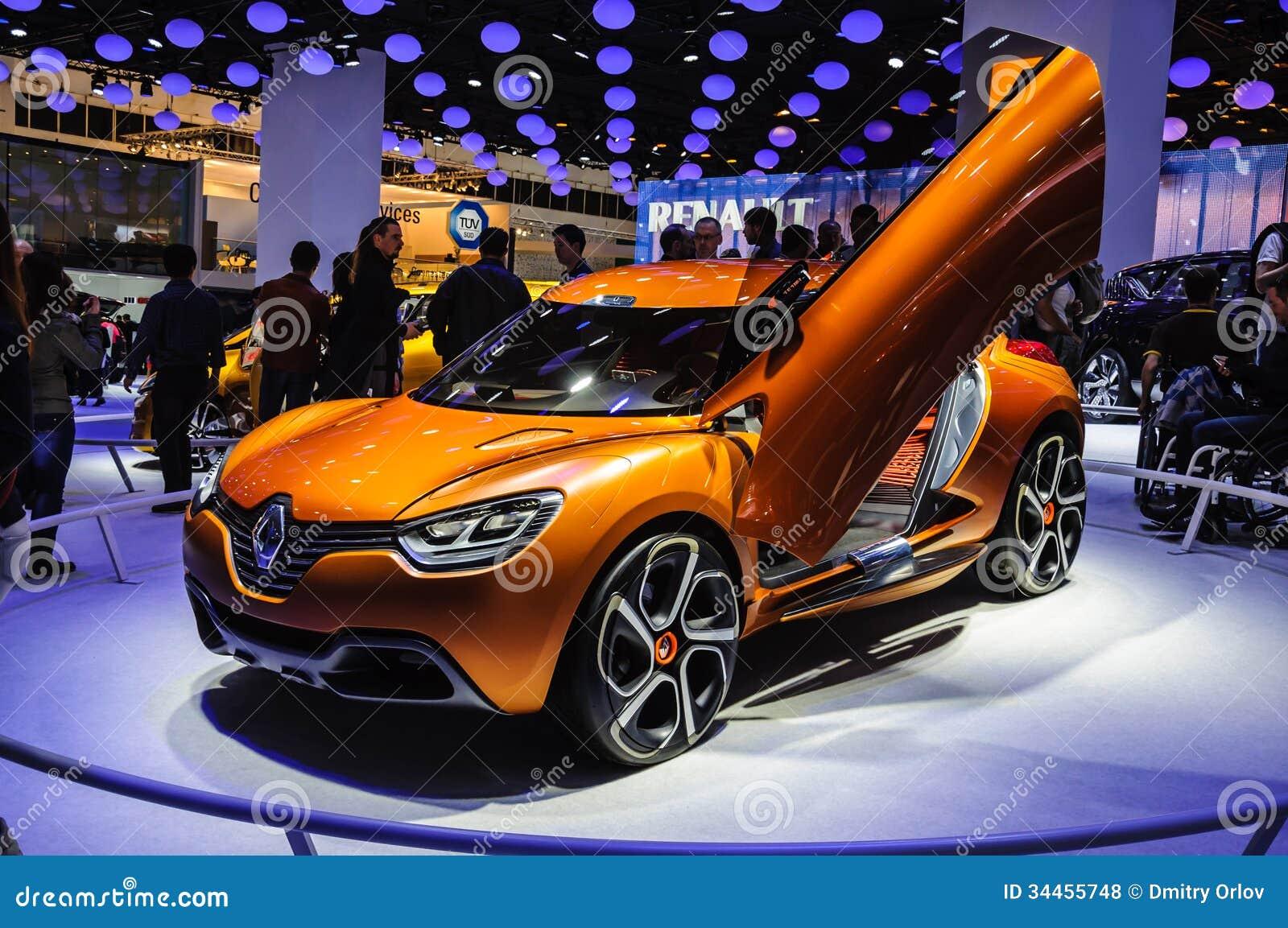 frankfurt sept 21 renault captur concept car presented. Black Bedroom Furniture Sets. Home Design Ideas