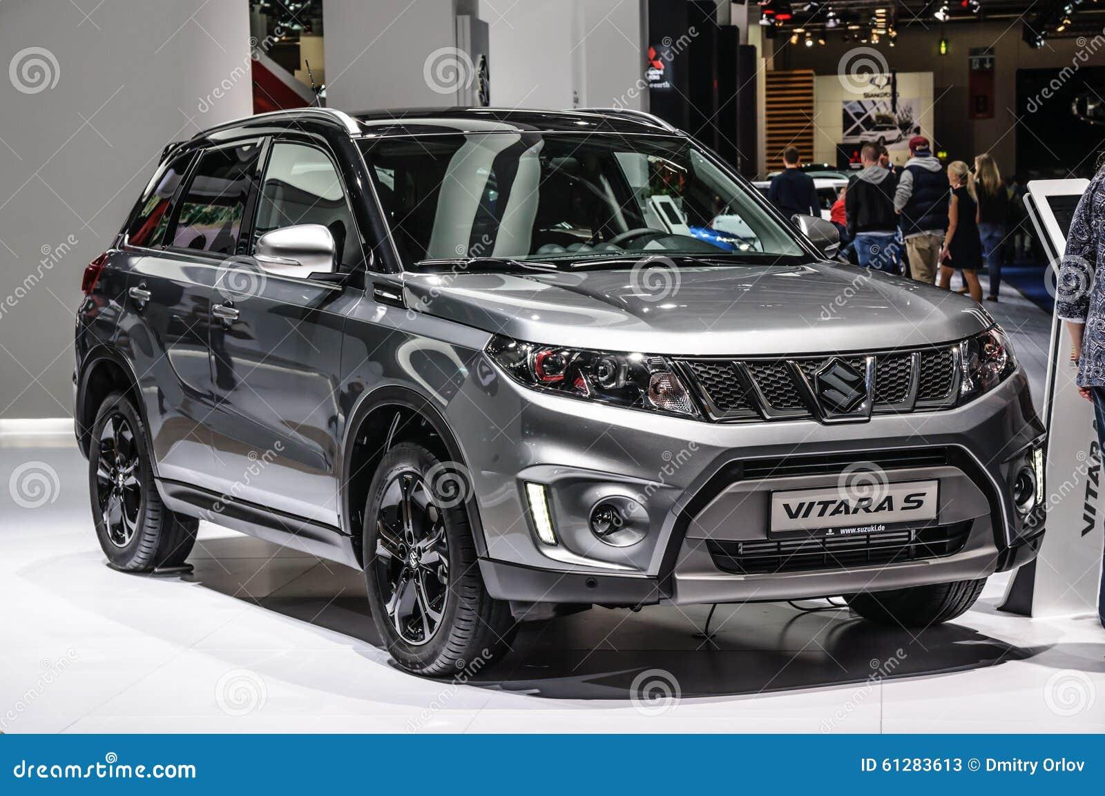 Frankfurt Sept 2015 Suzuki Vitara S Presented At Iaa