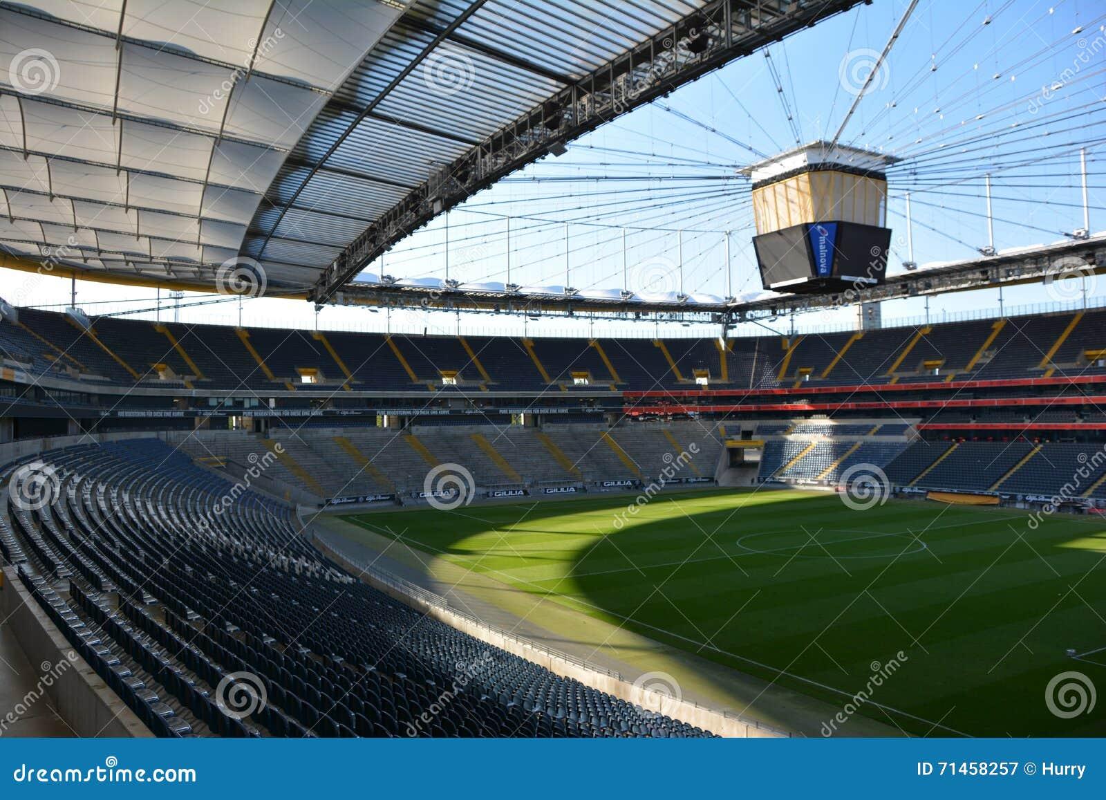 Frankfurt soccer stadium commerzbank arena editorial for Game design frankfurt