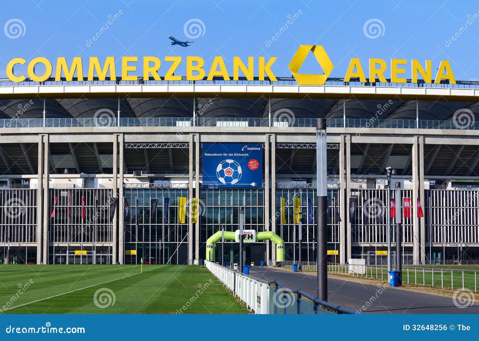 Frankfurt stadium commerzbank arena editorial photo for Game design frankfurt