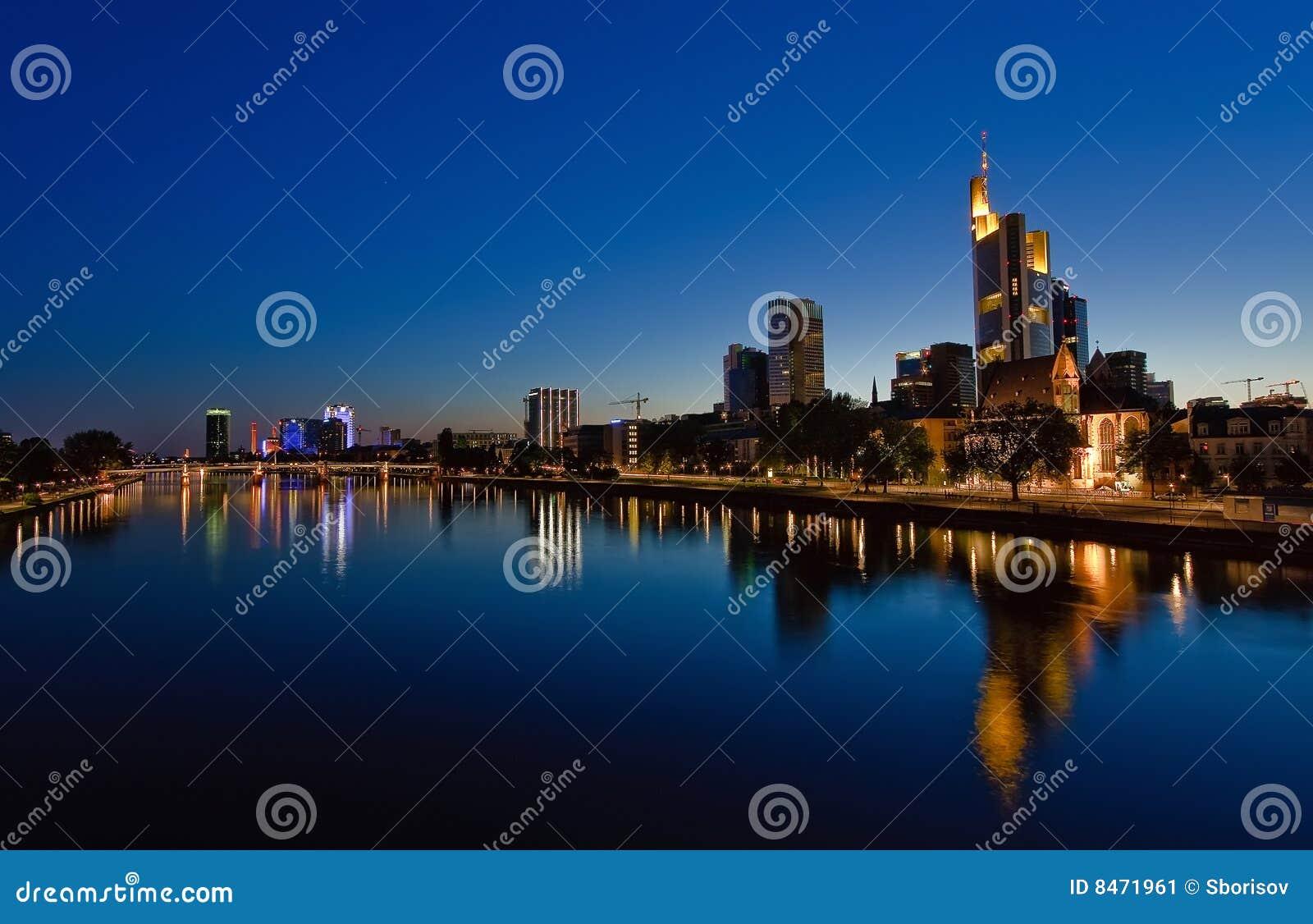 Frankfurt strömförsörjningsnatt
