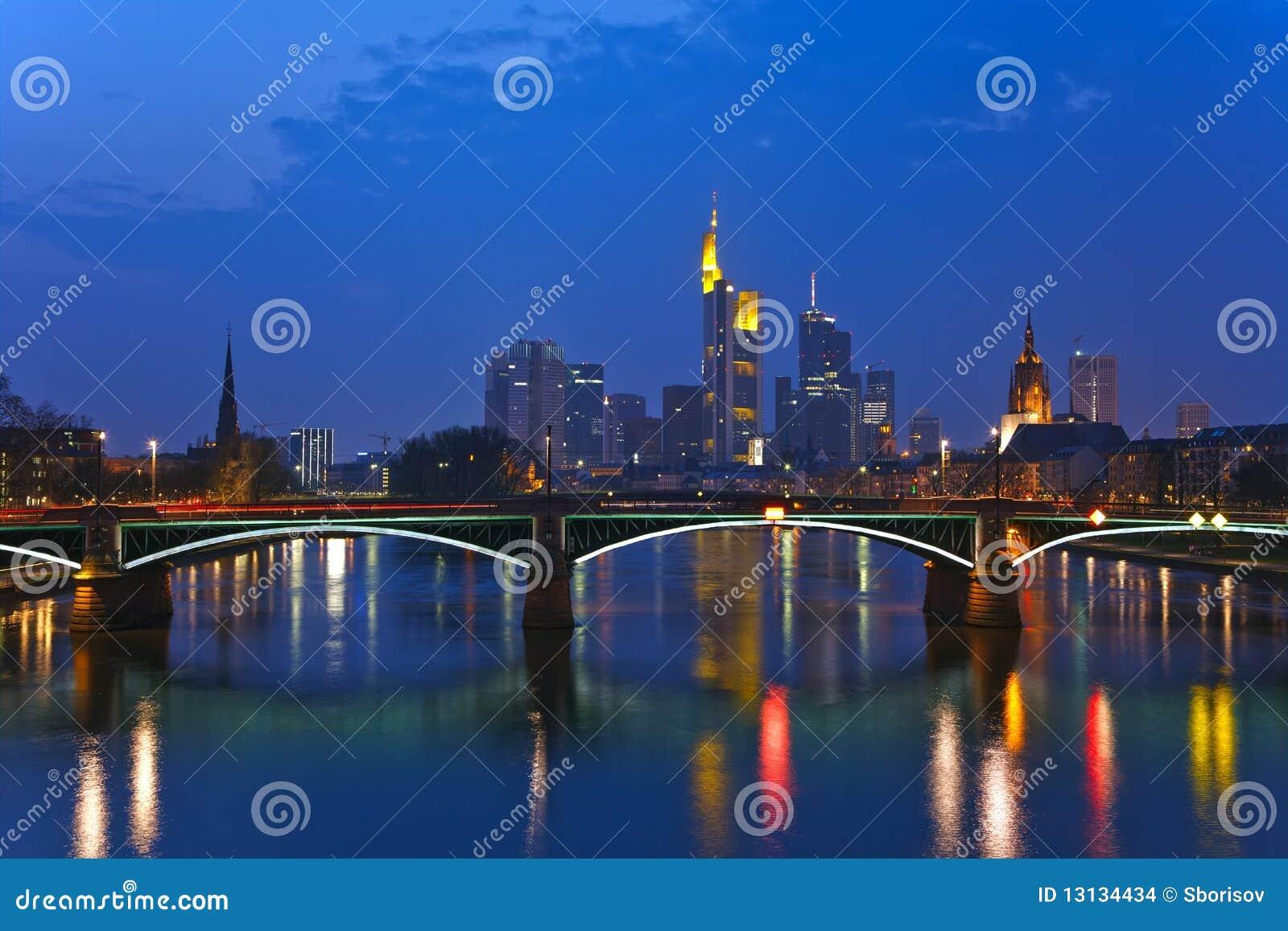Frankfurt strömförsörjningssikt