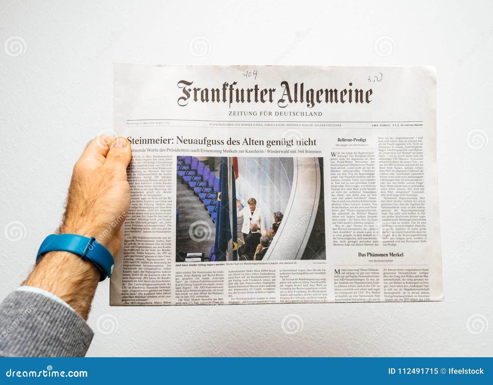 kennenlernen anzeigen lesen frankfurter allgemeine zeitung single trails erlangen